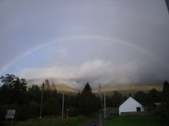 Rainbow at Bridge of Orchy